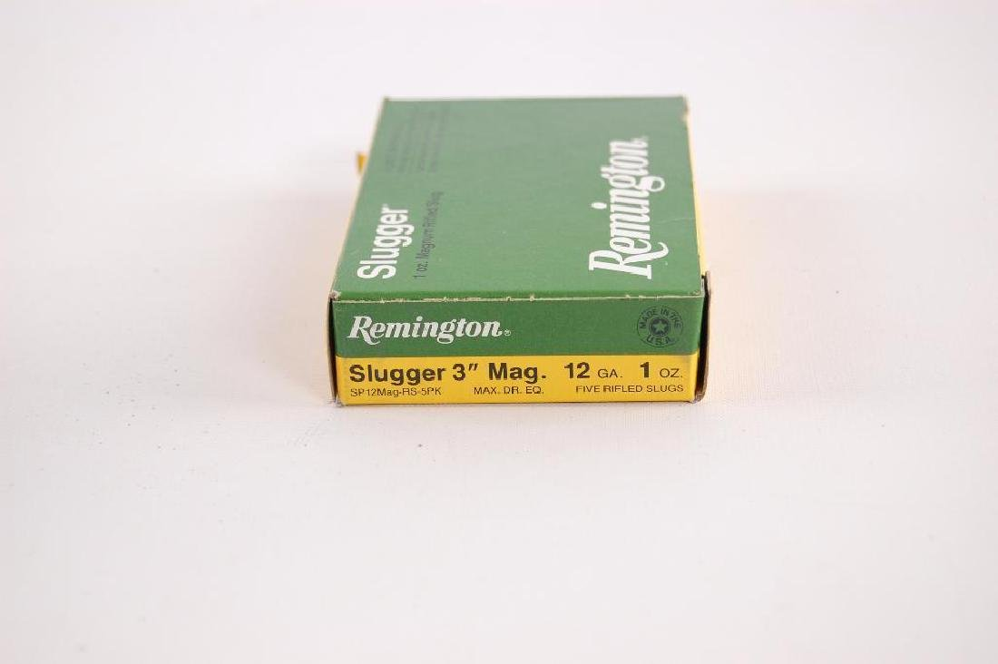 Full Box of Remington 12GA Slugger 3 in. Magnum Shotgun - 2