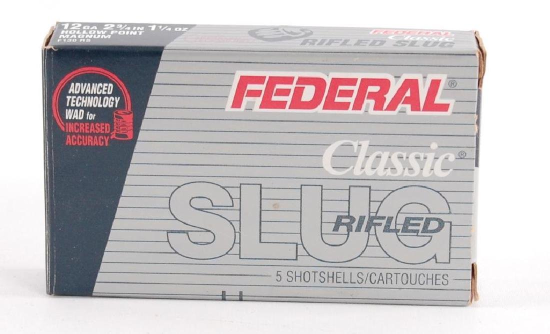 Full Box of Federal Classic Rifled Slug 12GA 2 3/4 in.