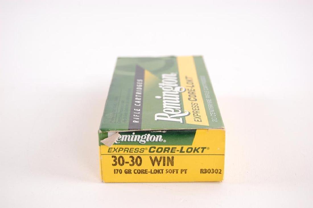Full Box of Remington 30-30 Win. Express Corer-Lokt 170 - 2