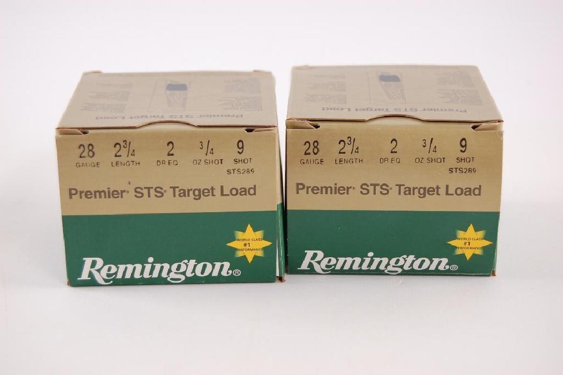 2 Full Boxes of Remington 28GA 2 3/4 in. Premier STS - 2