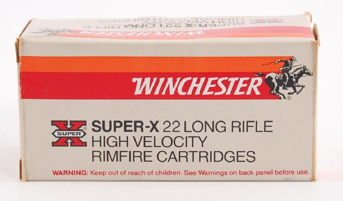 Full Box of Winchester Super X 22 Long Rifle High