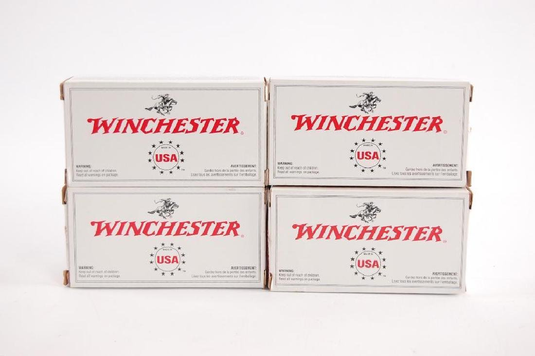 4 Full Boxes of Winchester 357 Magnum Ammunition