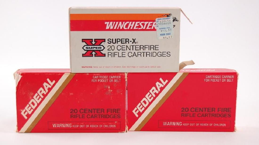 3 Full Boxes of Winchester and Federal 30-06