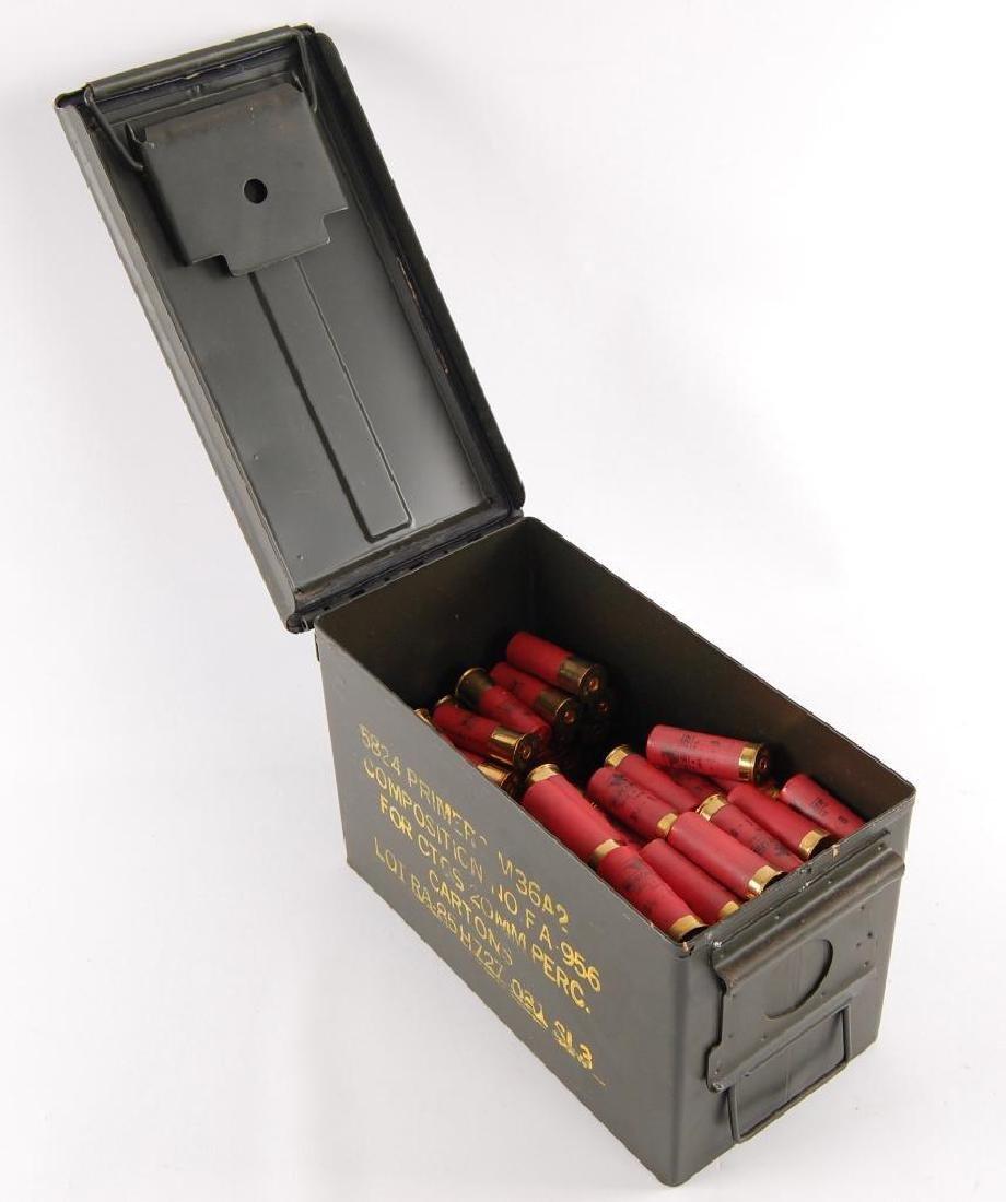 Ammo Box Full of Winchester 12GA 2 3/4 in. Shotgun
