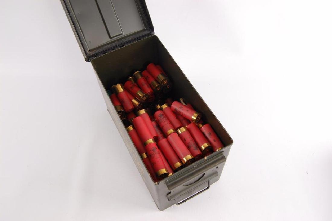 Ammo Box Full of Winchester 12GA 2 3/4 in. Shotgun - 2