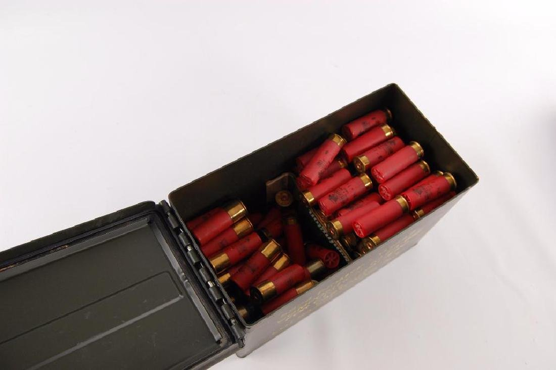 Ammo Box Full of Winchester 12GA 2 3/4 in. Shotgun - 3