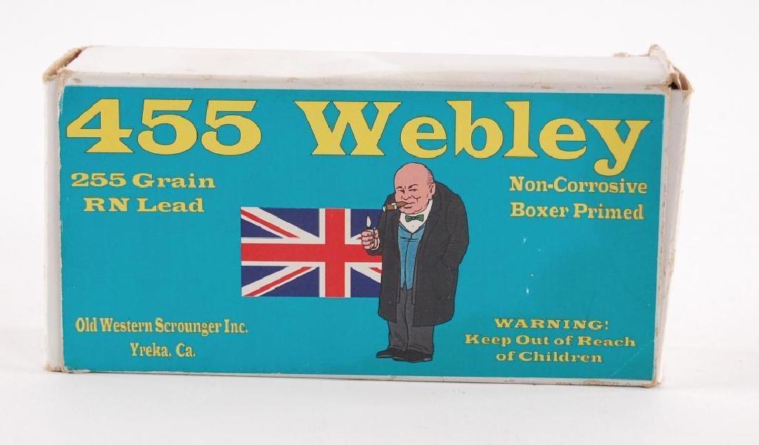 Full Box of 455 Webley Ammunition