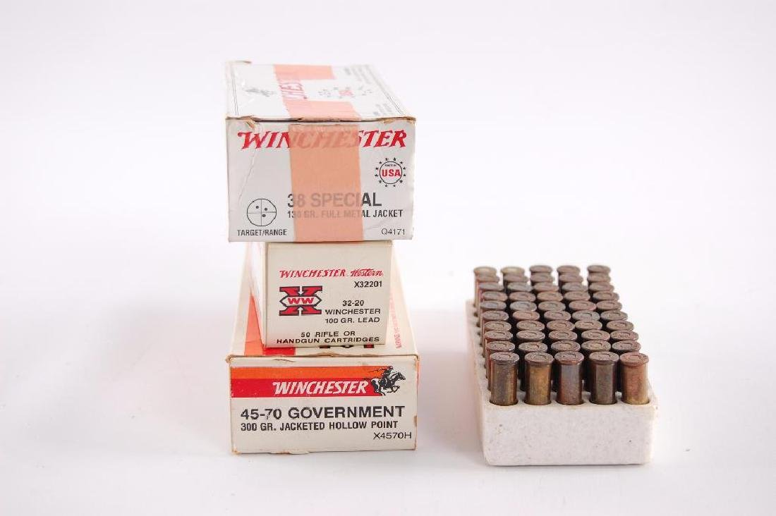 4 Full and Partial Boxes of Winchester Ammunition - 2