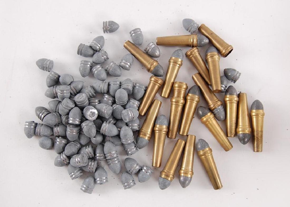Group of Burnside Falling Block Rifle Ammunition and