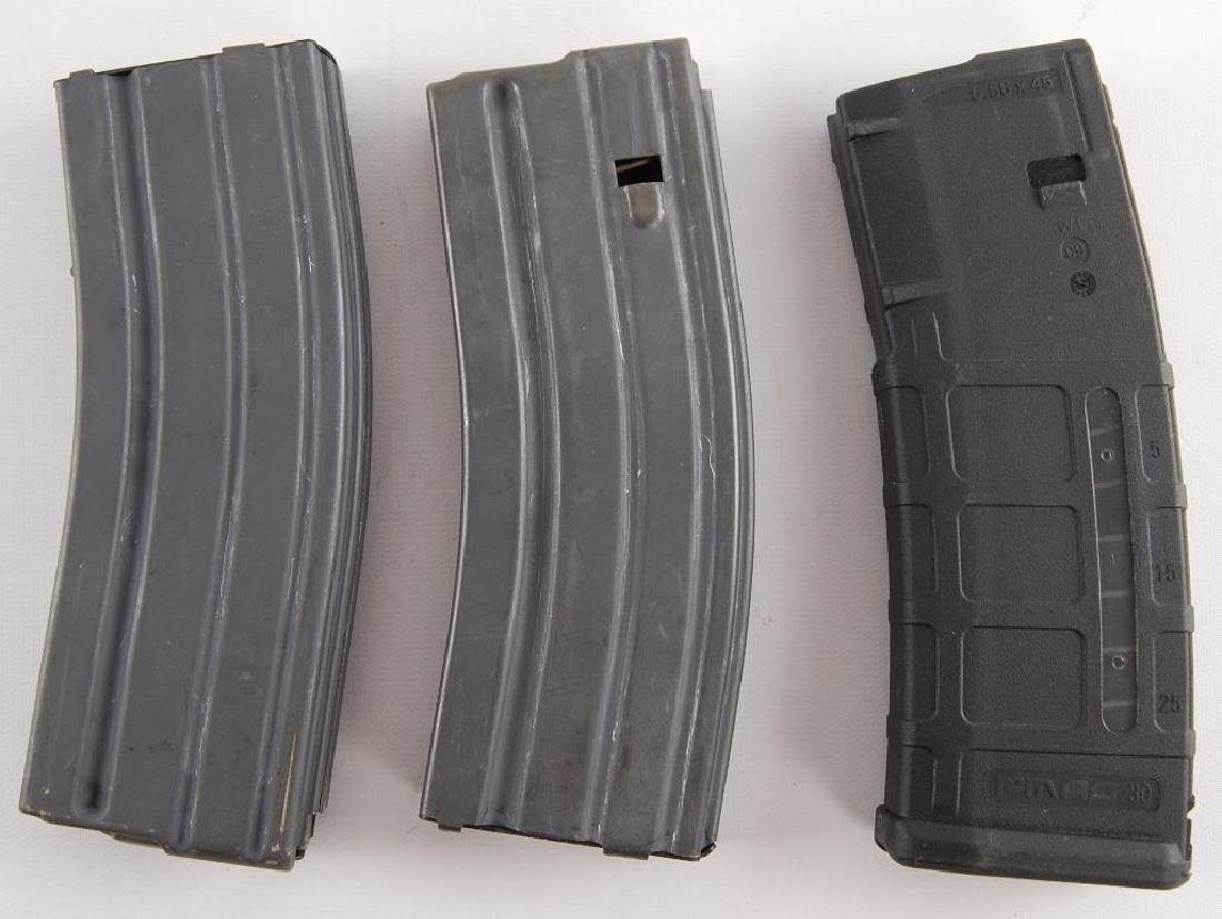 Group of 3 5.56 mm Magazines