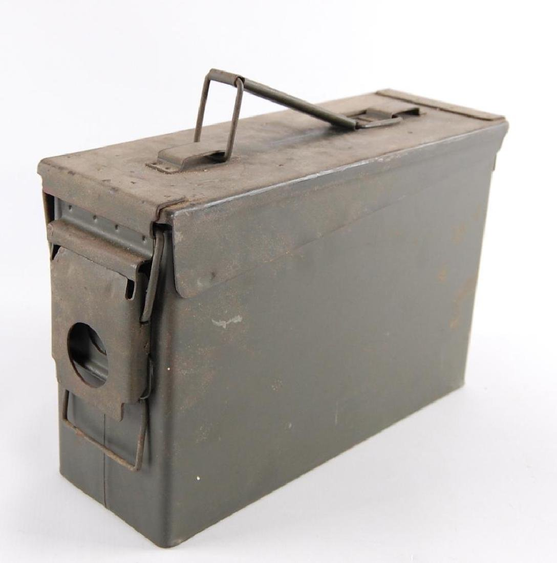 Vintage Metal Ammo Box