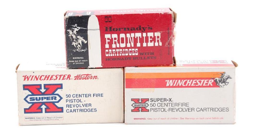 Group of 3 Full Boxes of 357 Magnum Ammunition