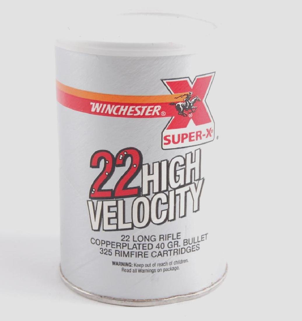 Full Can of Winchester .22 High Velocity Ammunition