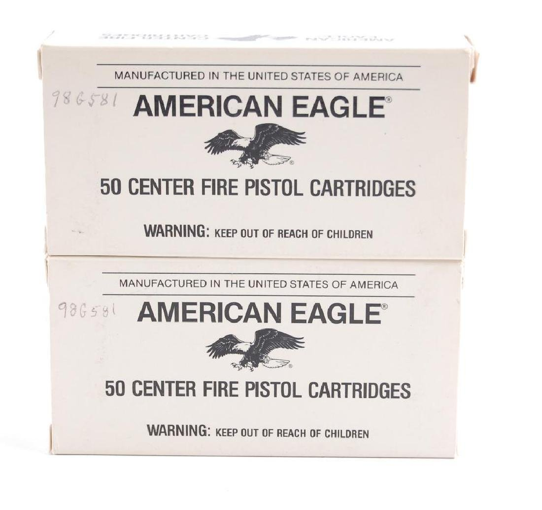 Group of 2 Partail Boxes of American Eagle .45 Cal/