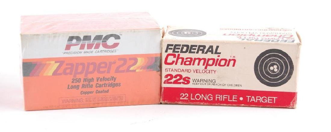 Group of 3 Full and Partial Boxes of .22 LR Ammunition