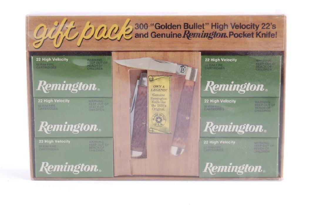 Remington Gift Pack with 300 .22LR Ammunition and