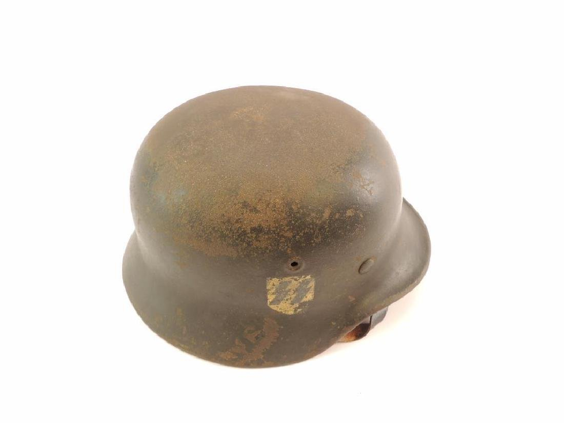 WW2 German SS Helmet with Double Sided Decals - 3