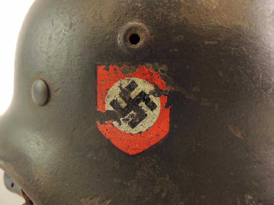 WW2 German SS Helmet with Double Sided Decals - 5