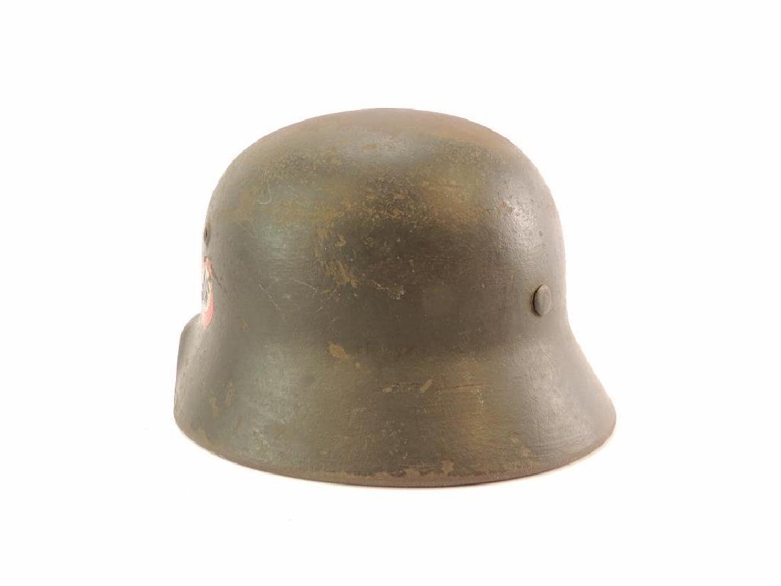 WW2 German SS Helmet with Double Sided Decals - 6