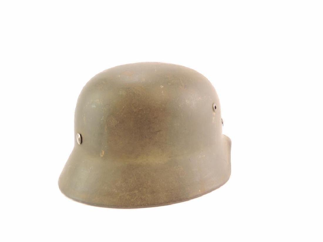 WW2 German Luftwaffe Helmet with Decal - 5