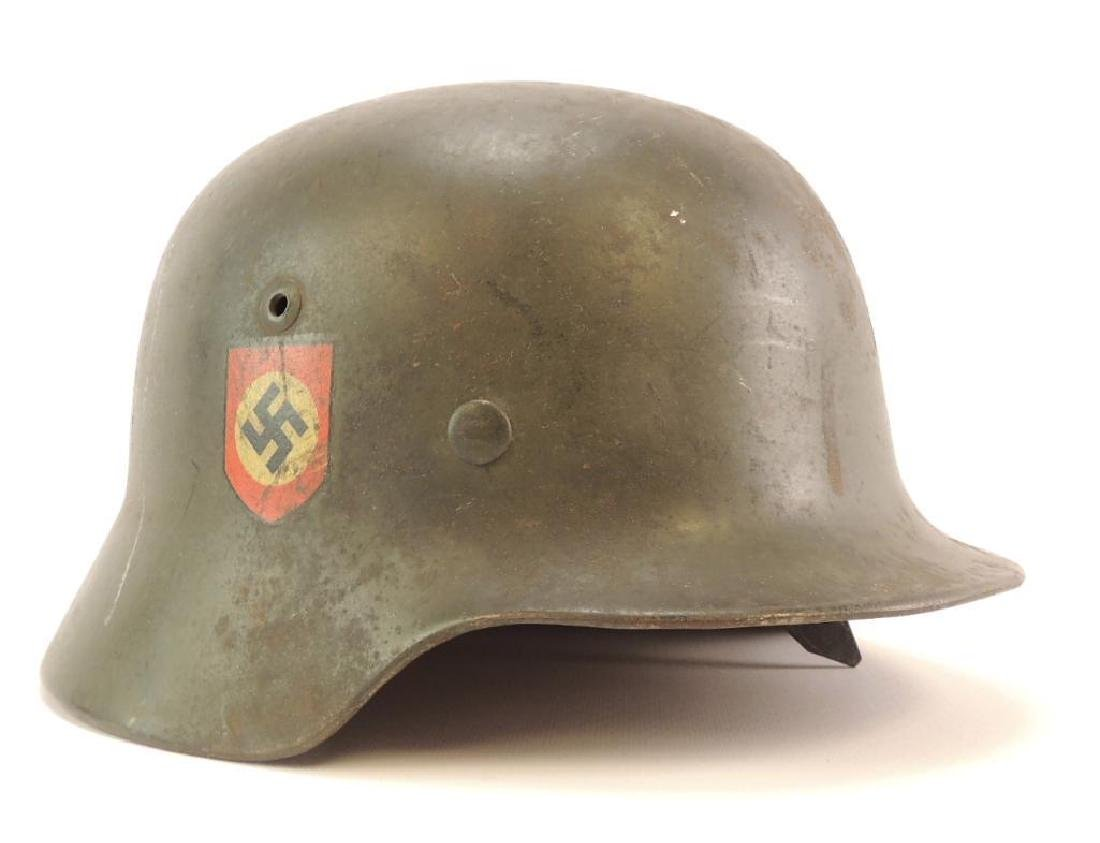 WW2 German Double Sided Decal Helmet
