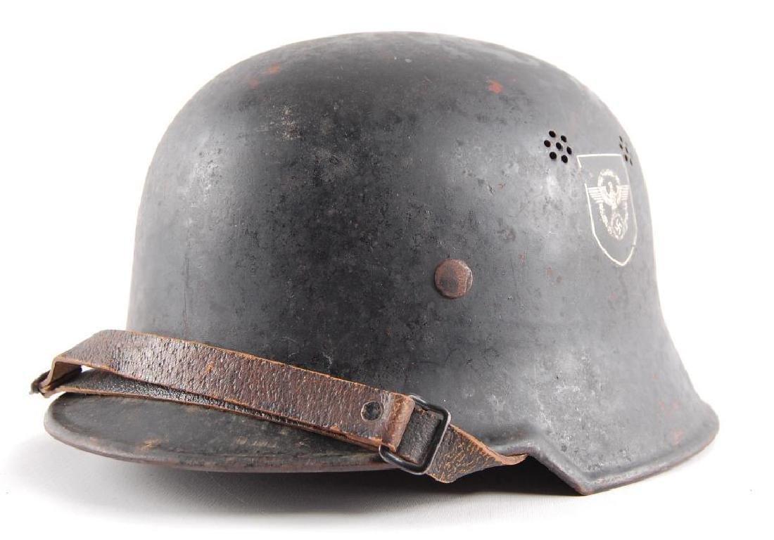 WW2 German Police Parade Helmet