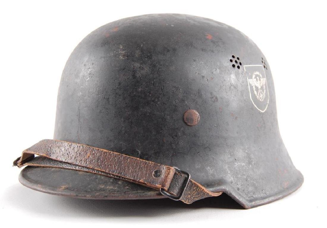WW2 German Police Parade Helmet