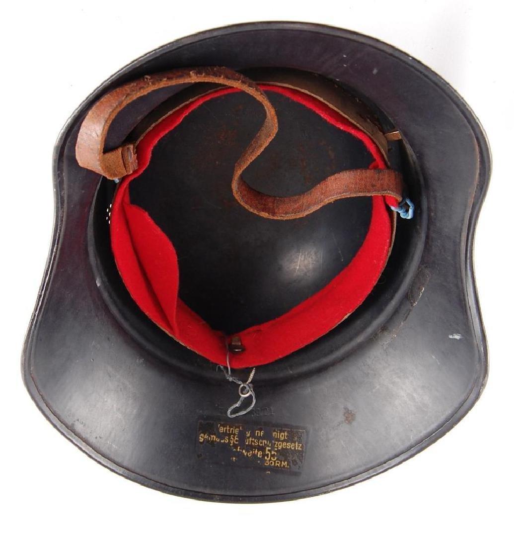 WW2 German Luftschutz Helmet - 7