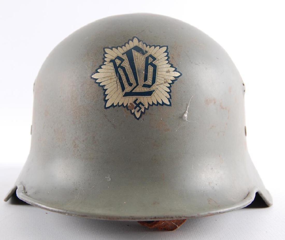 WW2 German RLB (Reichsluftschutzbund) Parade Helmet