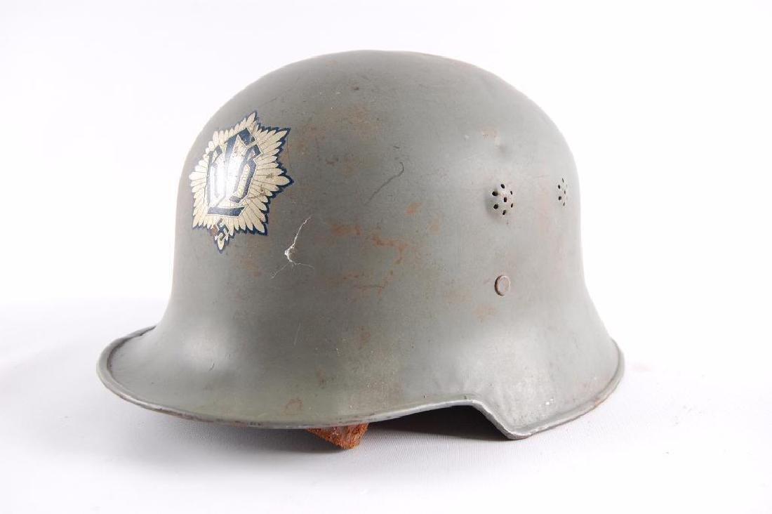 WW2 German RLB (Reichsluftschutzbund) Parade Helmet - 3