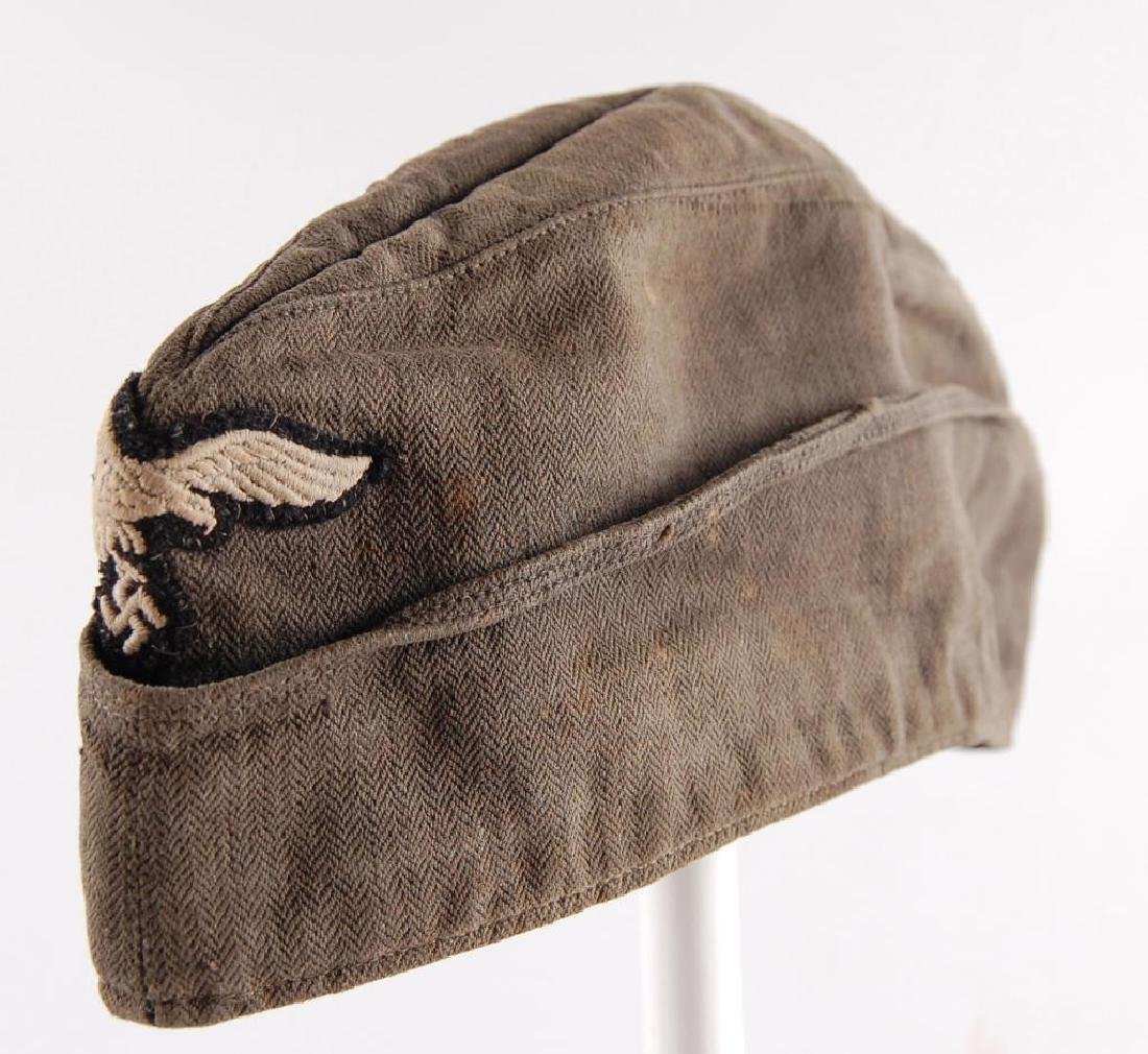 WW2 German Luftwaffe Mechanics Cap with Patch