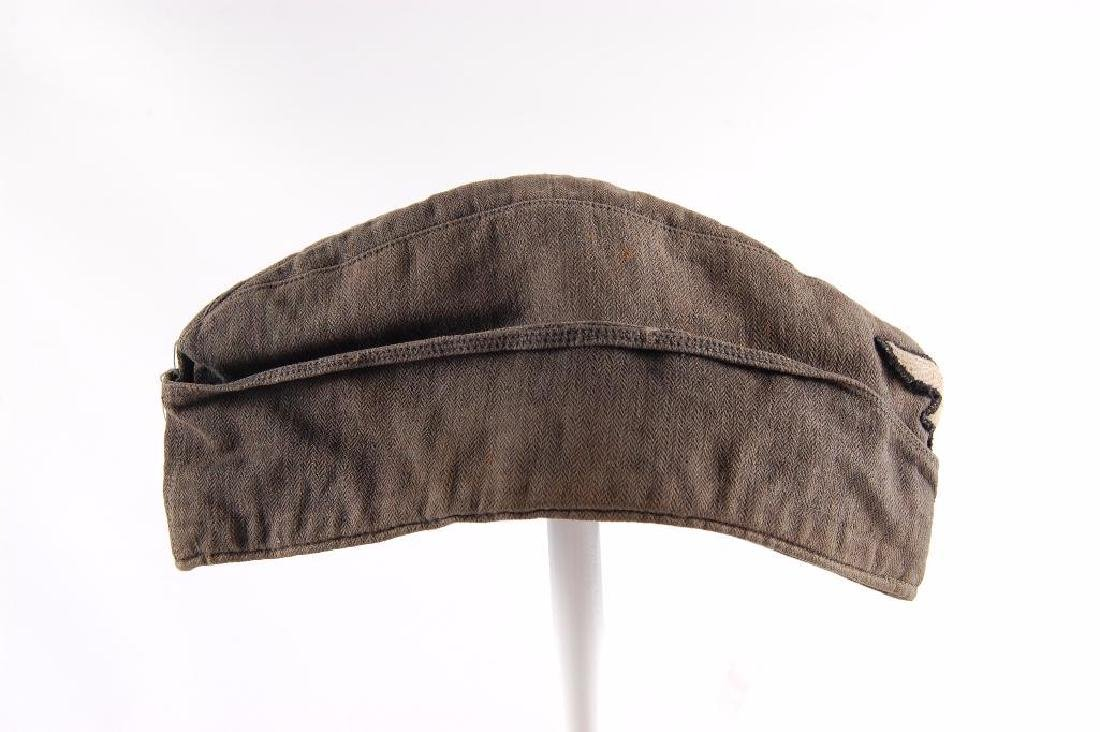 WW2 German Luftwaffe Mechanics Cap with Patch - 3