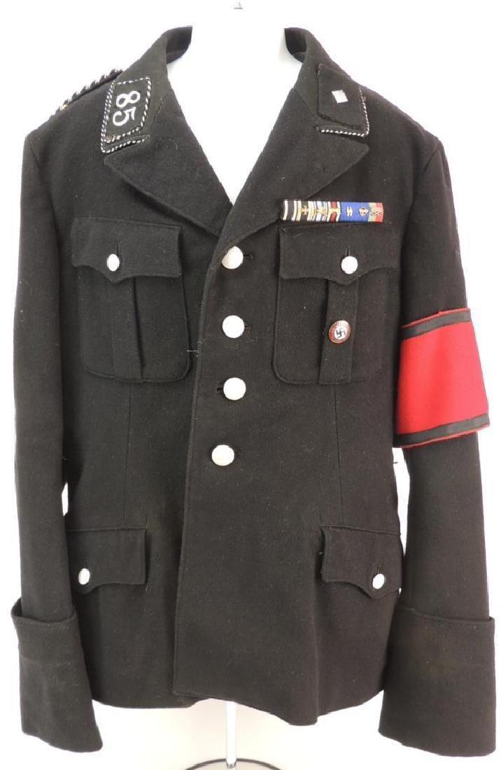 WW2 German Unterscharfuhrer Allegemeine SS Standarte 85
