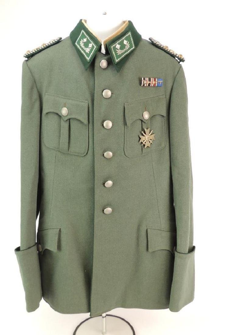 WW2 German Customs Officer Tunic with Ribbon Bar and