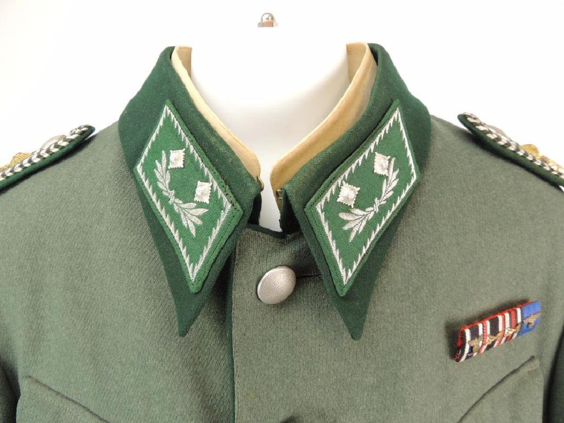 WW2 German Customs Officer Tunic with Ribbon Bar and - 2