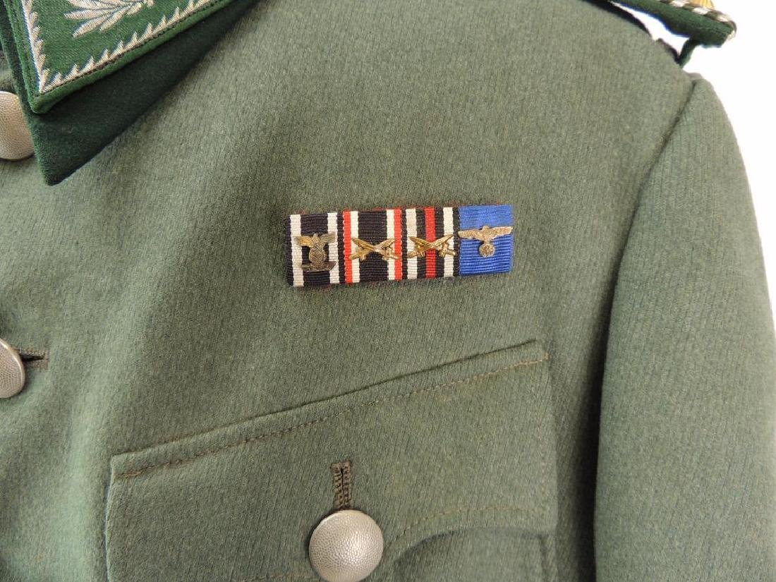 WW2 German Customs Officer Tunic with Ribbon Bar and - 3