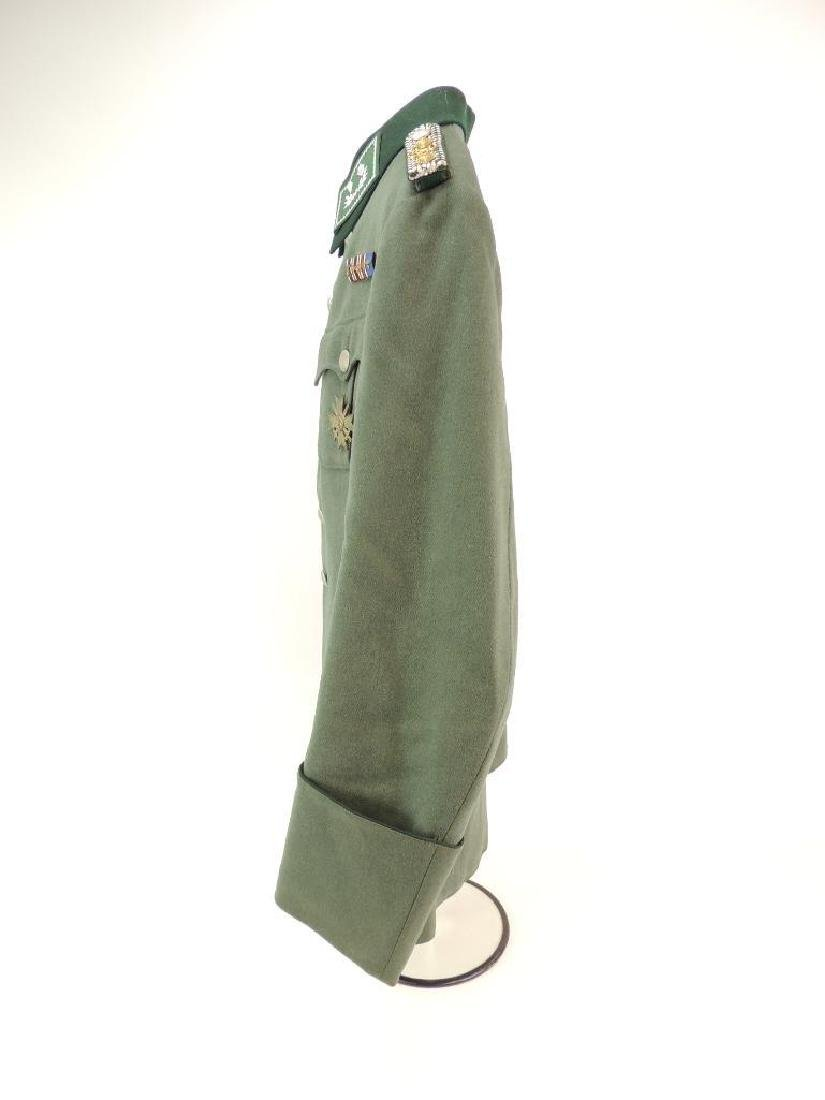 WW2 German Customs Officer Tunic with Ribbon Bar and - 7