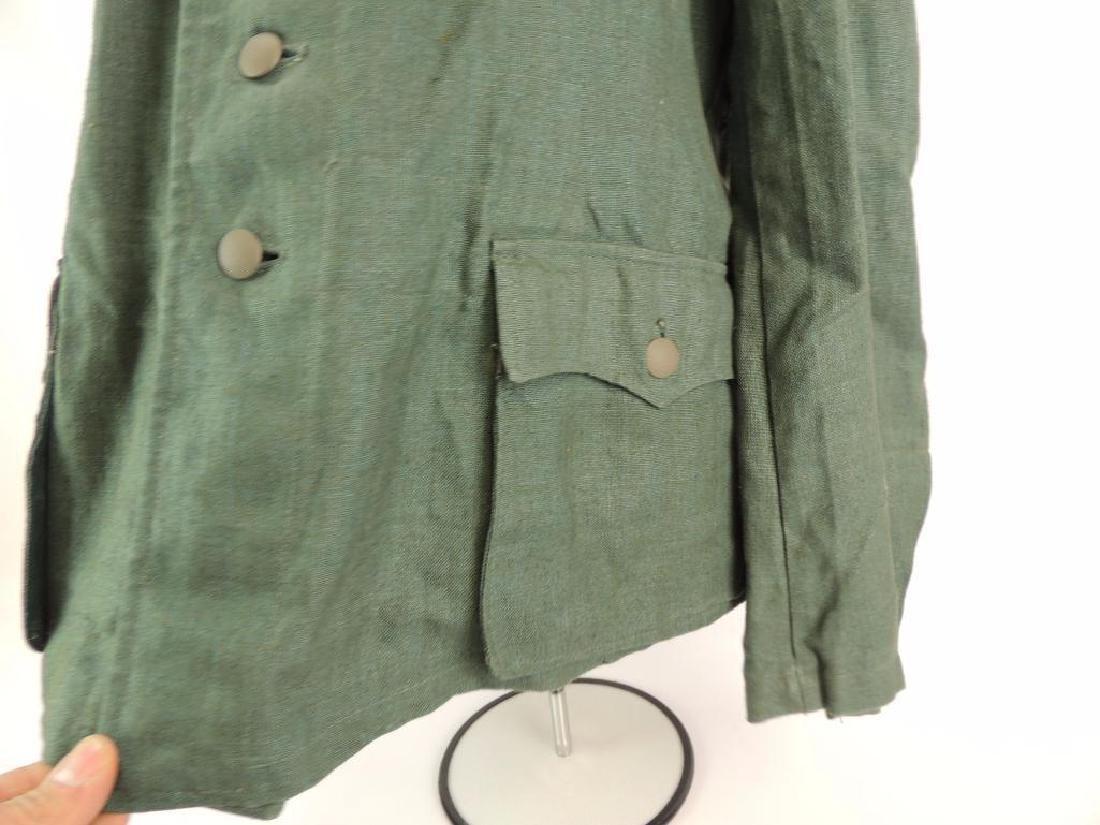 WW2 German Sgt. Major Summer Field Tunic with Shoulder - 8