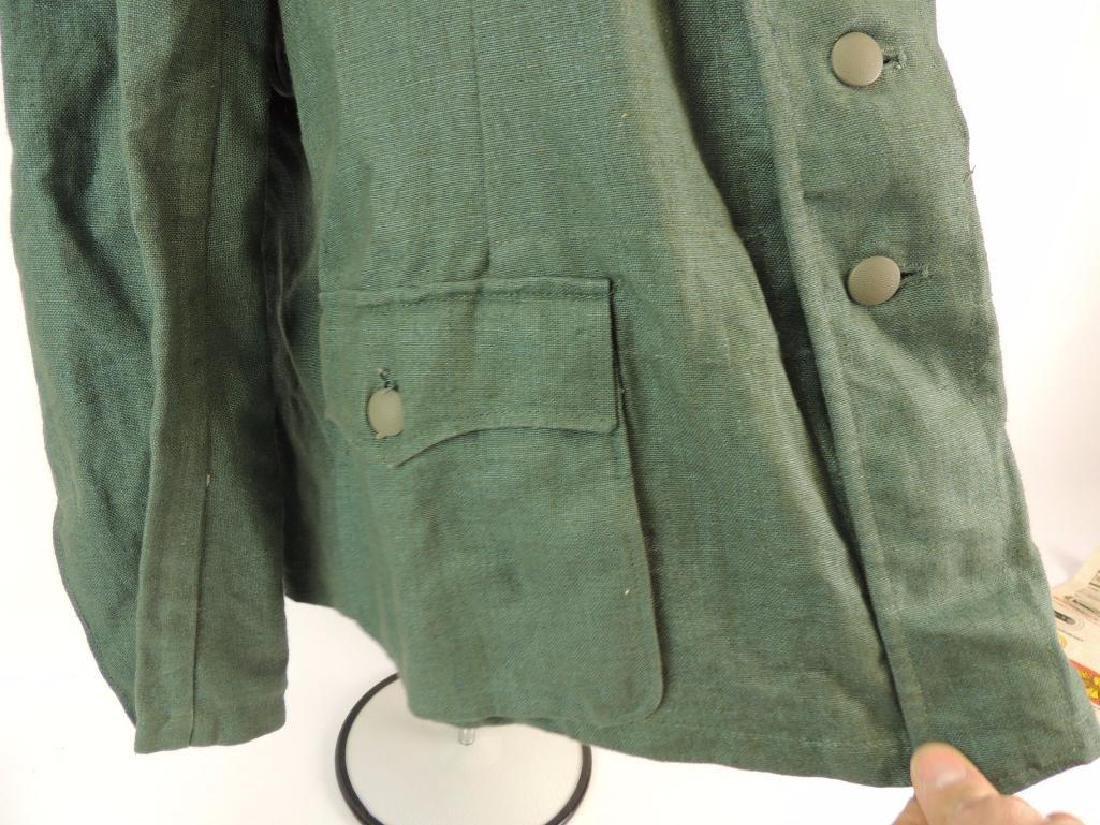 WW2 German Sgt. Major Summer Field Tunic with Shoulder - 9