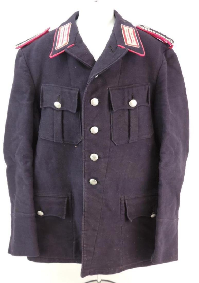 WW2 German 3rd Reich Fire Service Tunic