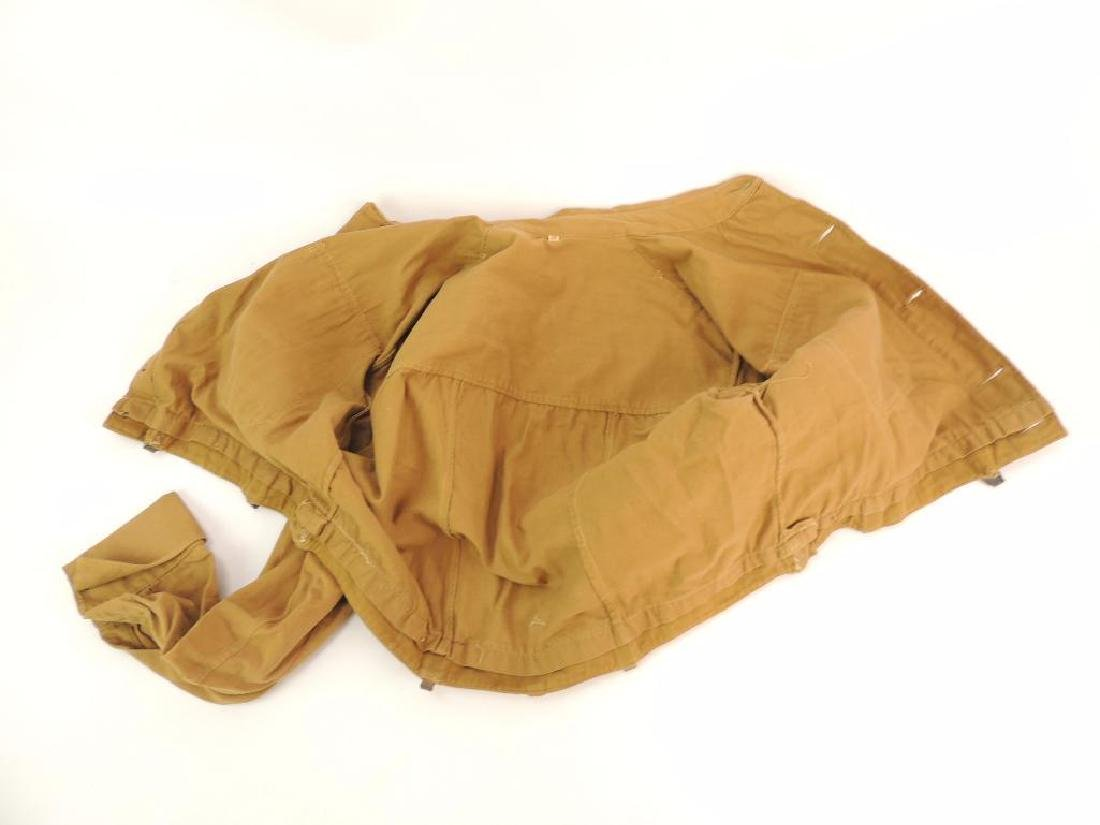 WW2 German NSSK Brown Twill Shirt with Collar Tabs, - 9