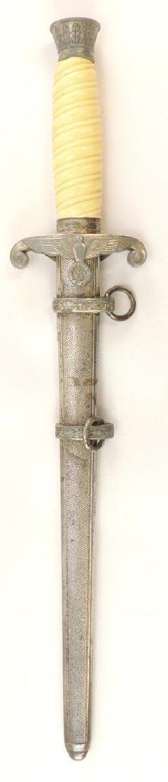 WW2 German Army Dagger with Scabbard