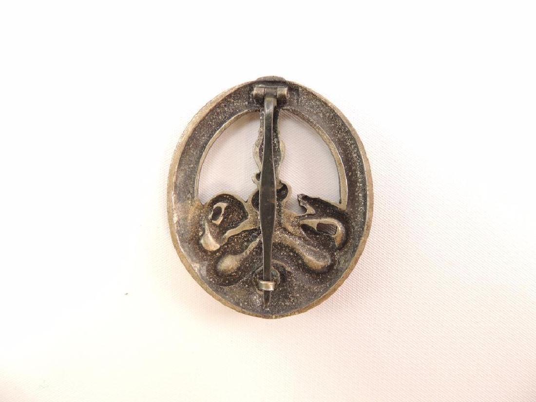 WW2 German Gold Anti Partisan Badge - 2