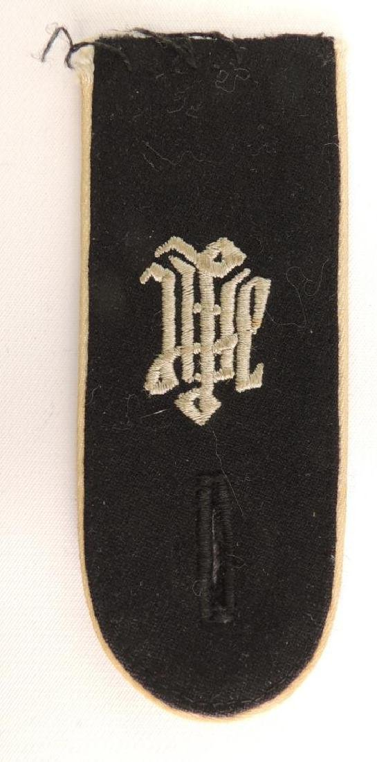 WW2 German SS A.H. Collar Tab