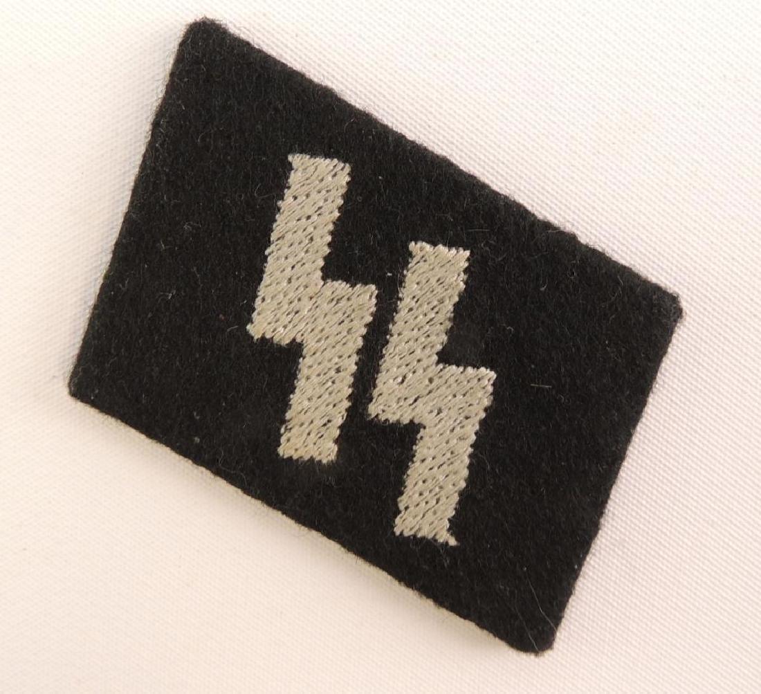 WW2 German SS Collar Tab