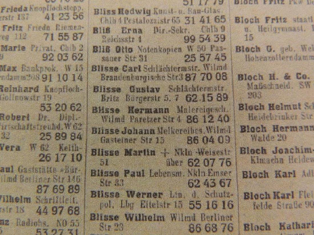 Heinrich Himmler WW2 German Signed Identified Promotion - 7