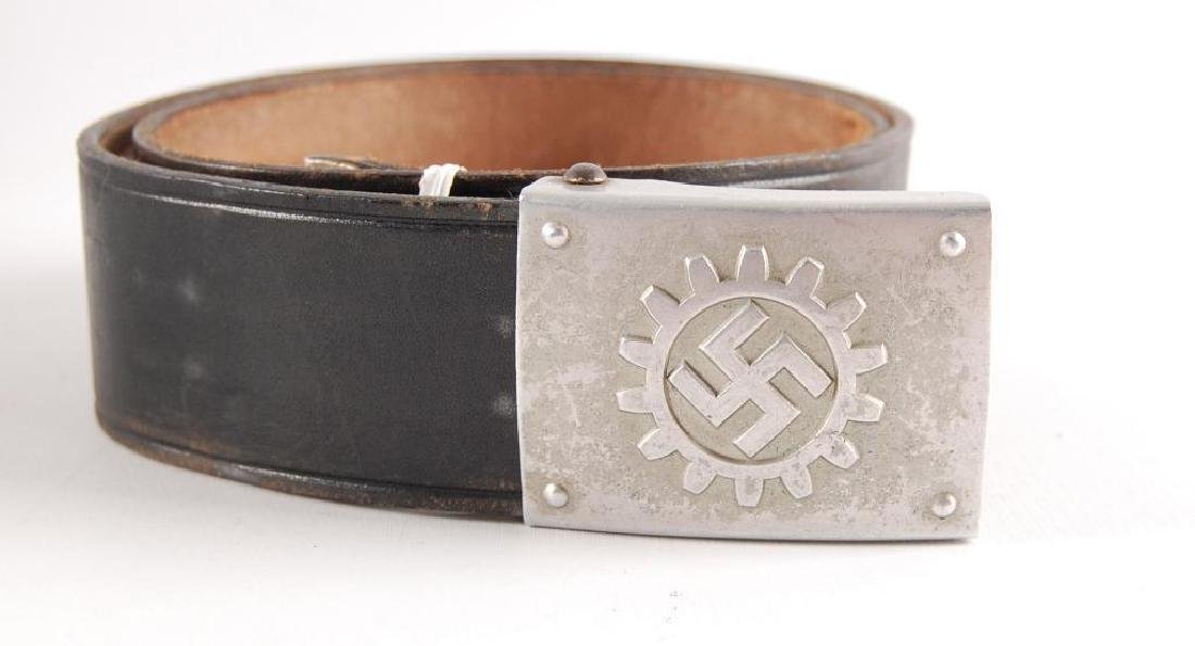 WW2 German Labor Corp Belt and Buckle