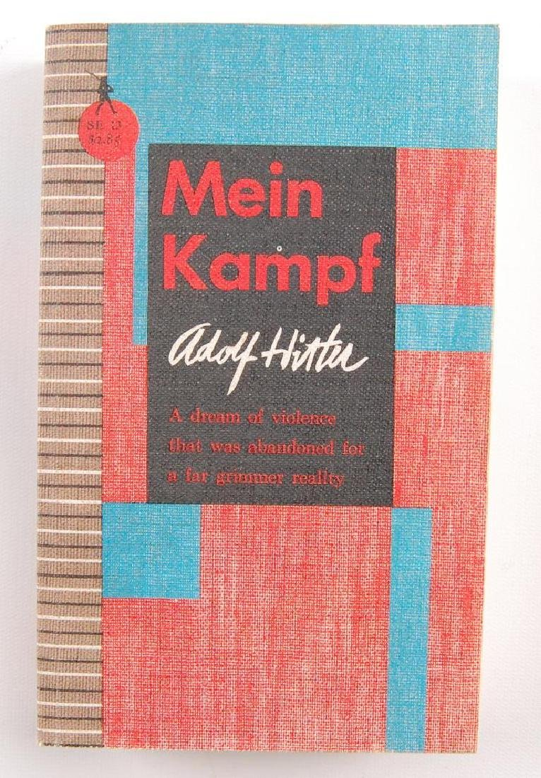 Mein Kampf by Adolf Hitler Translated to English Paper