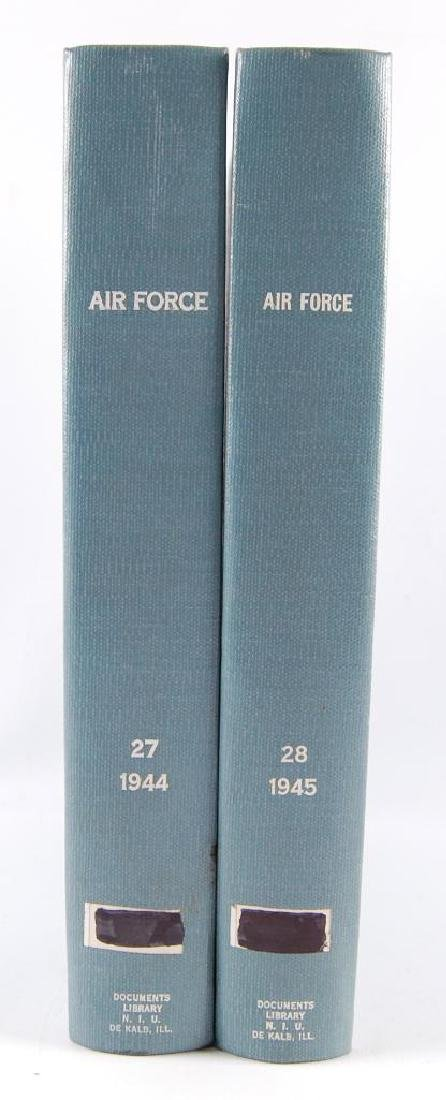 2 Volumes of The Offical Jourals of the U.S. Airforce