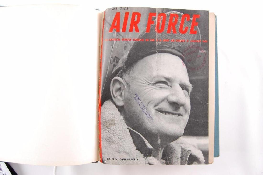 2 Volumes of The Offical Jourals of the U.S. Airforce - 2